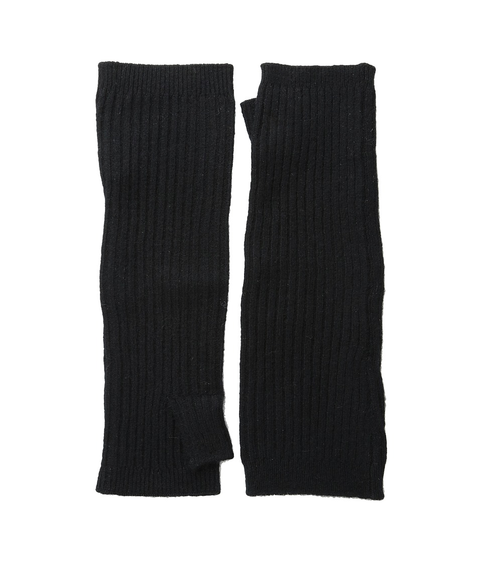 Hat Attack - Cashmere Arm Warmer (Black) Extreme Cold Weather Gloves
