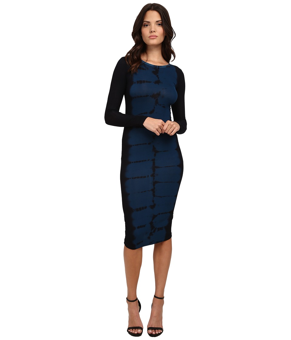 Young Fabulous & Broke - Myra Dress (Navy Tiger) Women's Dress