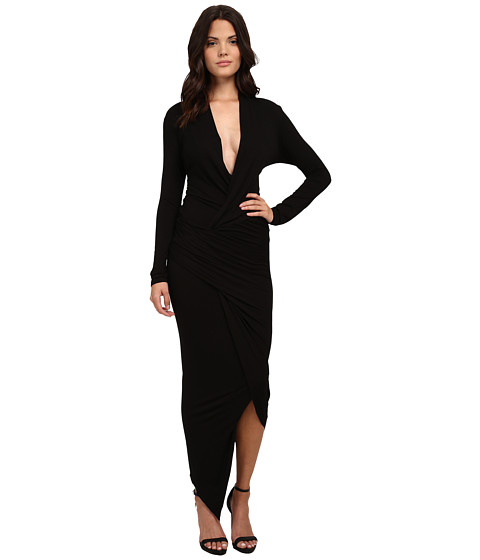 Young Fabulous & Broke - Brielle Maxi (Black) Women's Dress