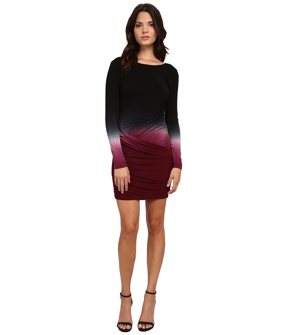Young Fabulous & Broke - Audrina Dress (Cranberry Ombre) Women's Dress