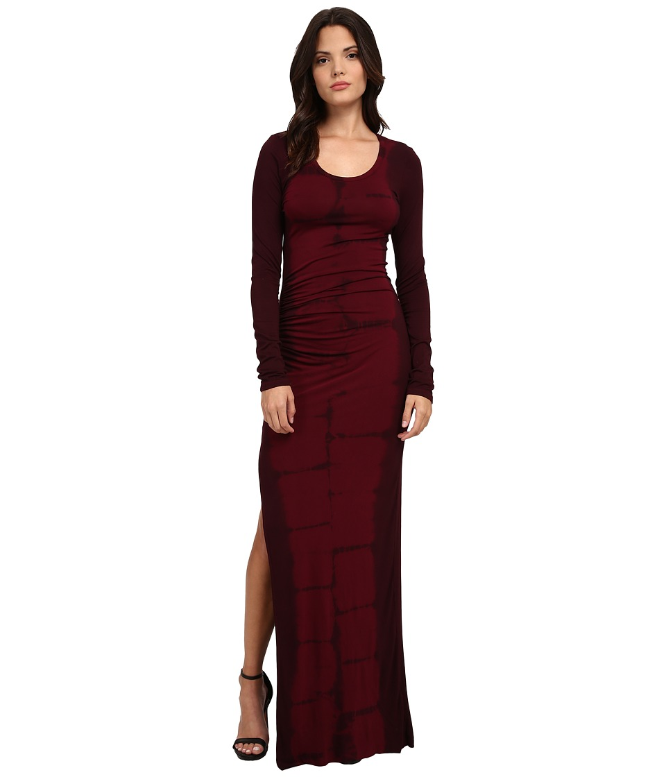 Young Fabulous & Broke - Blais Maxi (Cranberry Tiger) Women's Dress