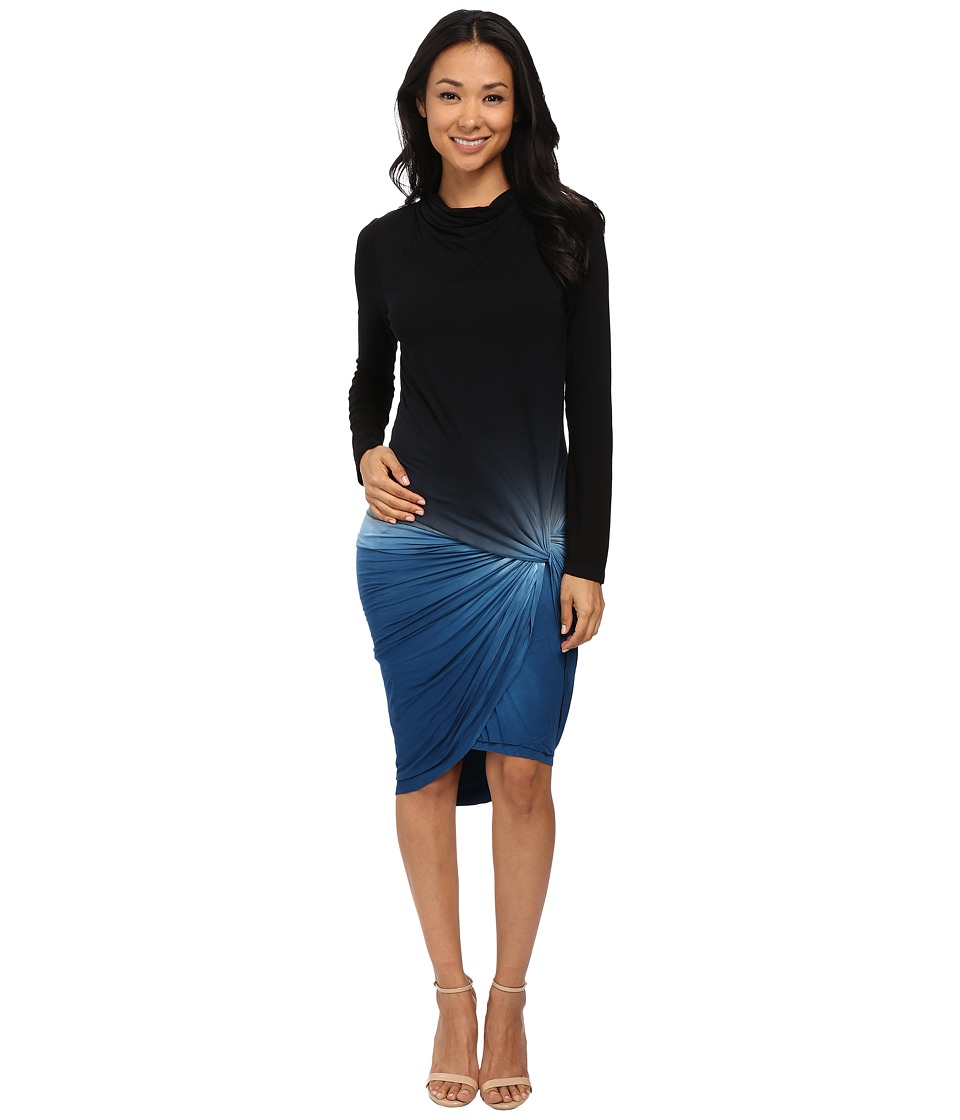 Young Fabulous & Broke - Nicci Dress (Navy Ombre) Women's Dress