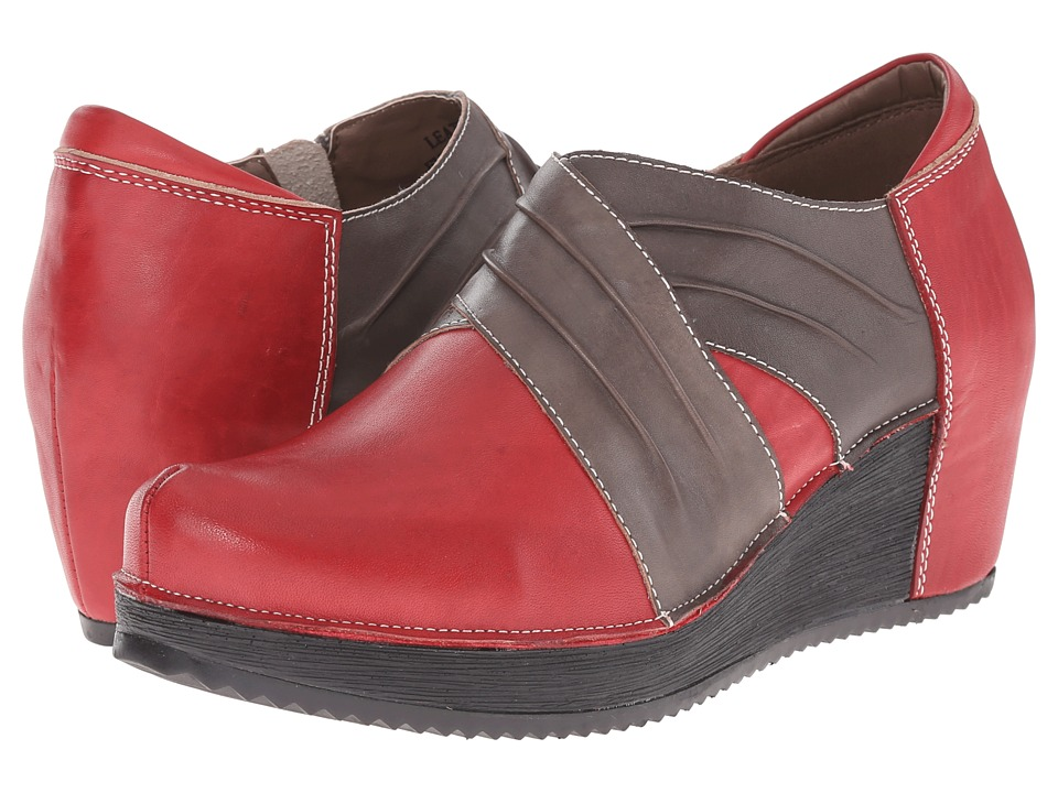 Spring Step - Funtastic (Dark Red) Women's Shoes