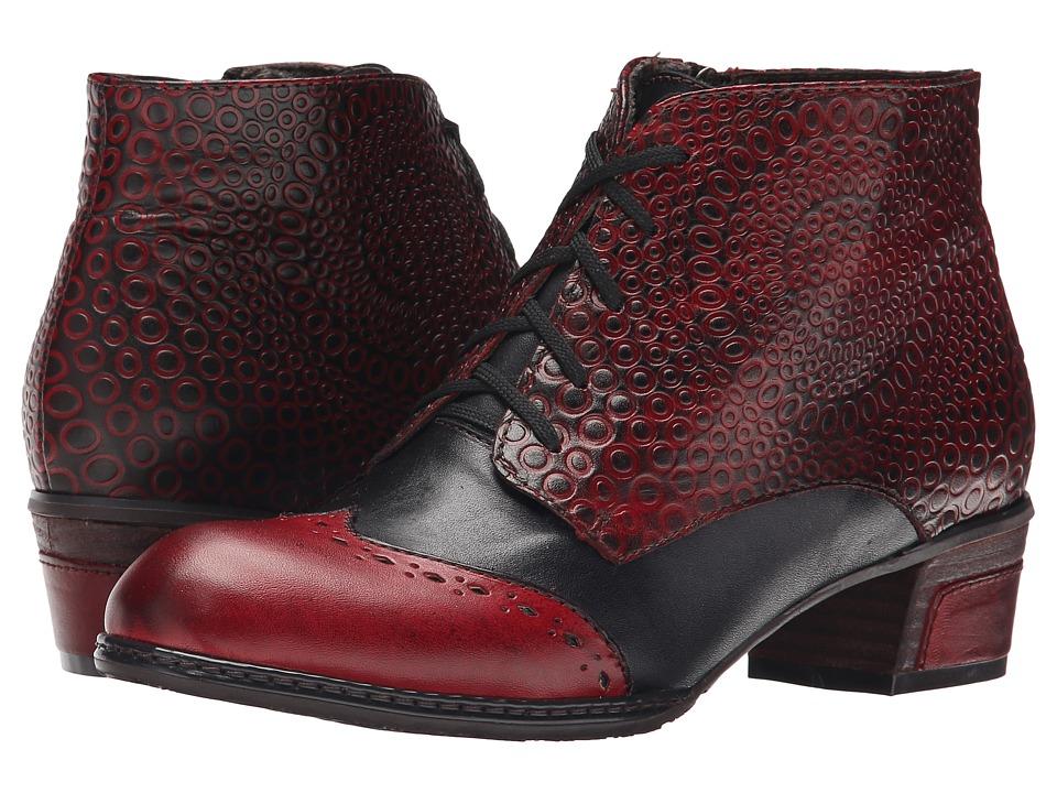Spring Step - Granola (Dark Red) Women's Shoes