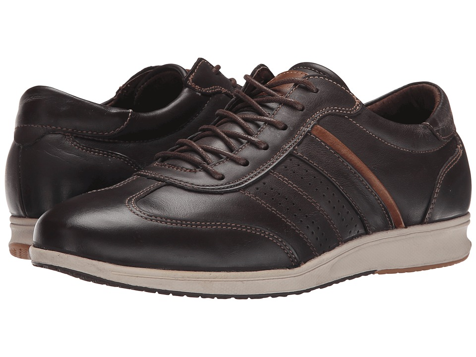 Spring Step - Jasper (Dark Brown) Men's Wedge Shoes