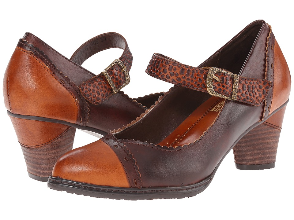 Spring Step - Ostentatious (Camel) Women's Shoes