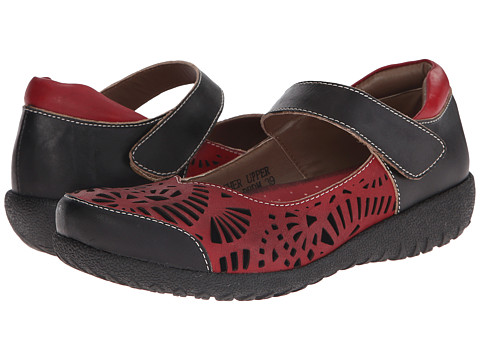 Spring Step - Shrive (Dark Red) Women's Shoes