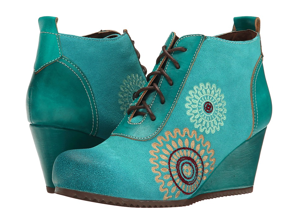 Spring Step - Westminster (Aqua) Women's Shoes