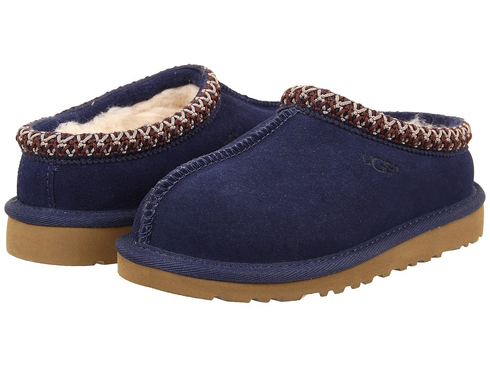 UGG Kids Tasman (Toddler/Little Kid/Big Kid) (Peacoat) Kids Shoes