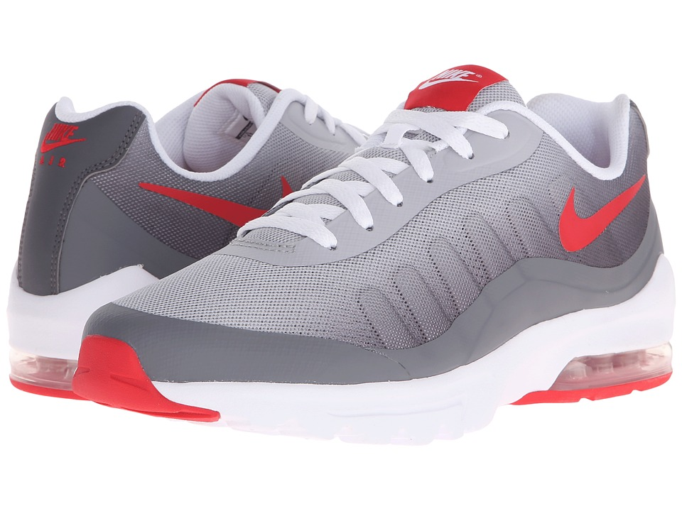 Nike - Air Max Invigor (Dark Grey/Wolf Grey/White/University Red) Men's Cross Training Shoes