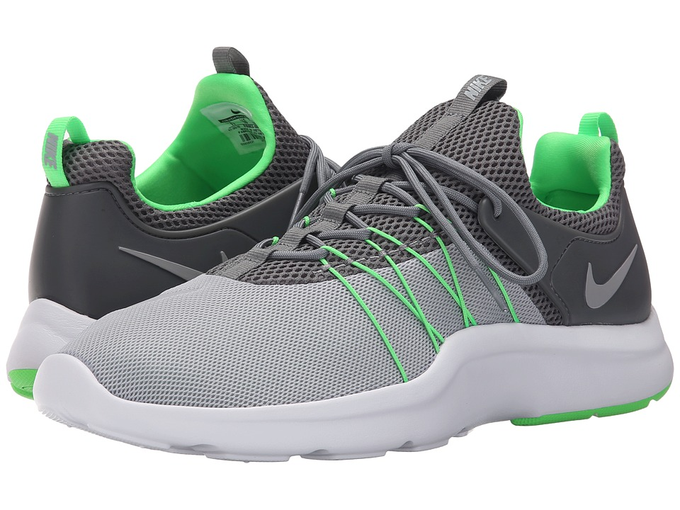Nike - Darwin (Wolf Grey/Cool Grey/Rage Green/Wolf Grey) Men's Running Shoes