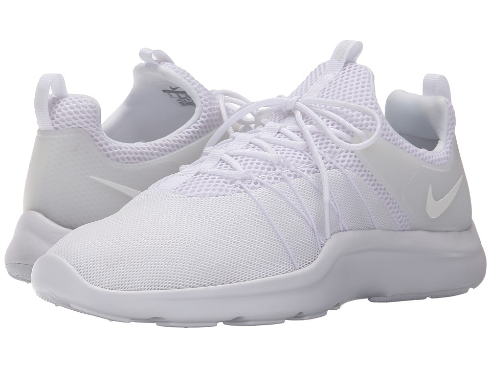 Nike - Darwin (White/White/White) Men's Running Shoes