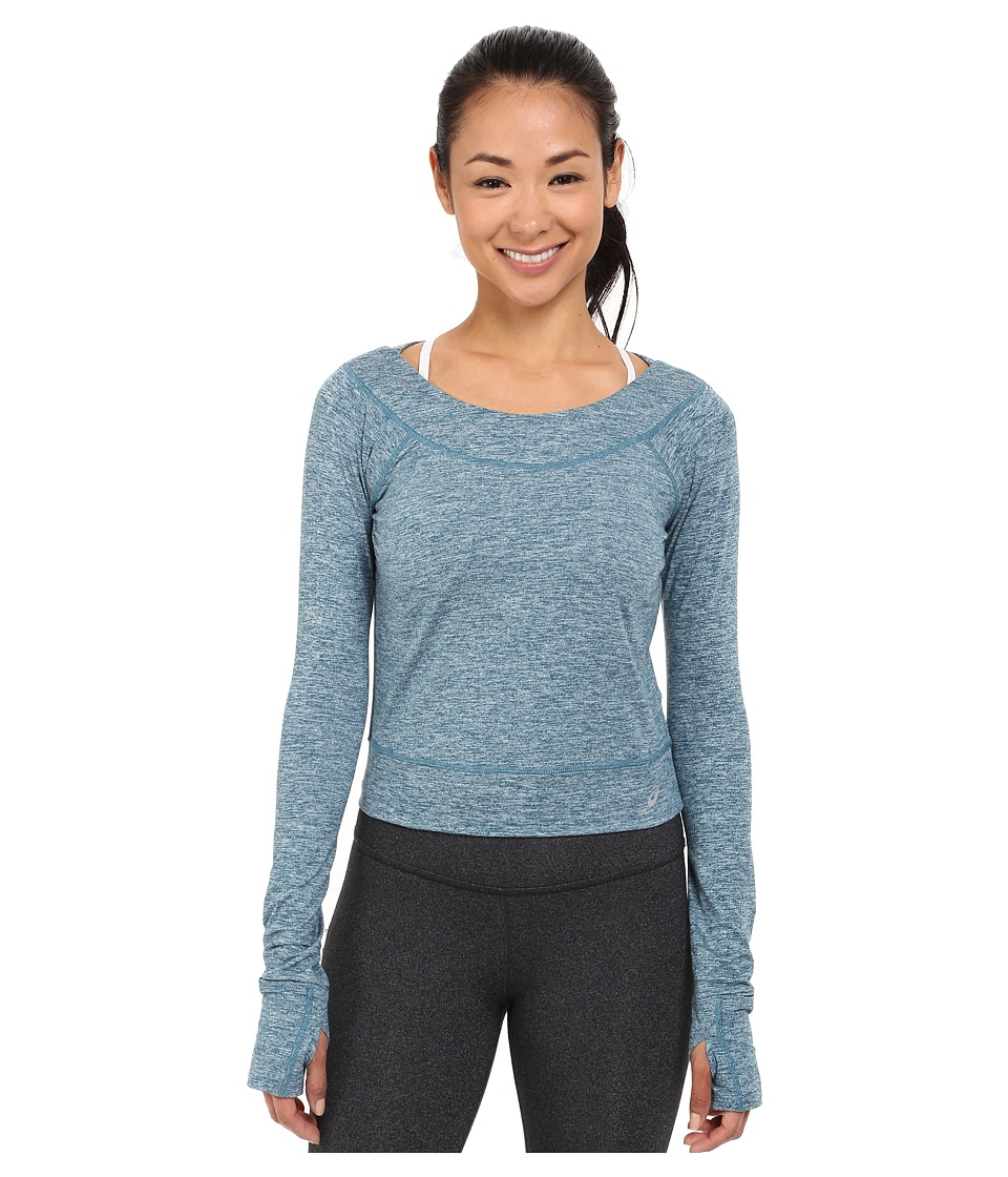 ASICS - ASX Lux Long Sleeve Top (Ink Blue) Women's Long Sleeve Pullover