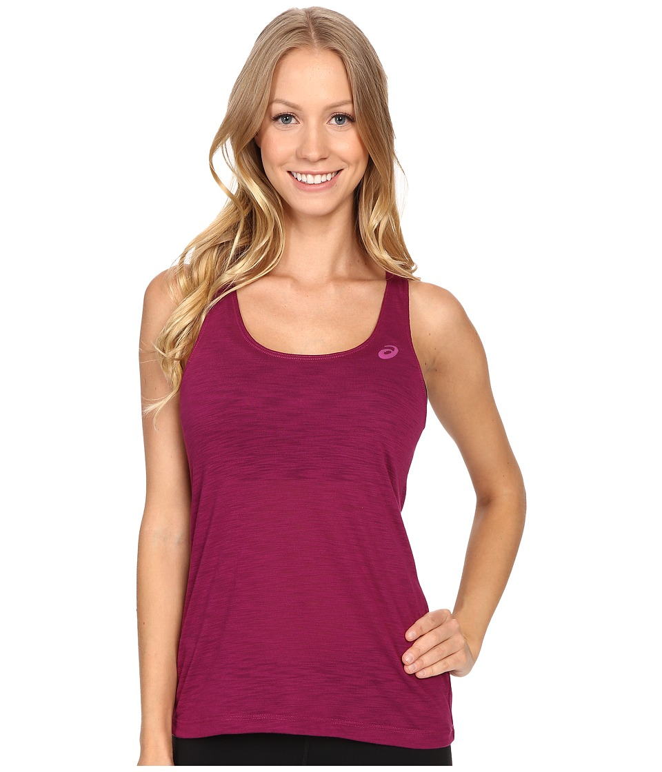 ASICS - Loose Tank Top (Plum) Women's Sleeveless