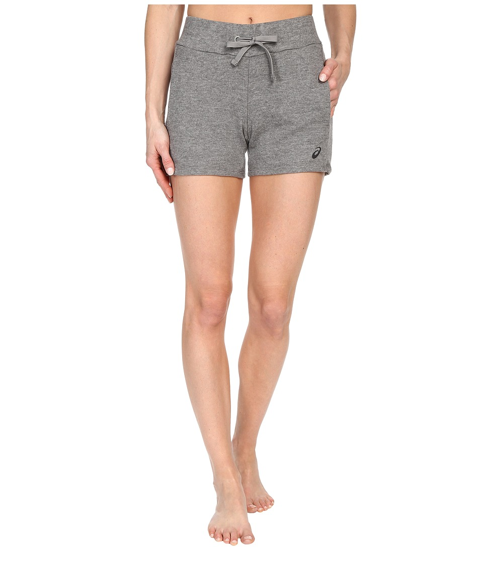 ASICS Knit Shorts (Heather Grey) Women