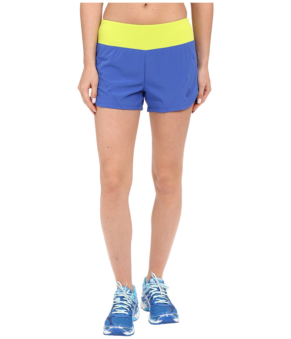 ASICS - Woven 2-in-1 Shorts (Blue Purple) Women's Shorts