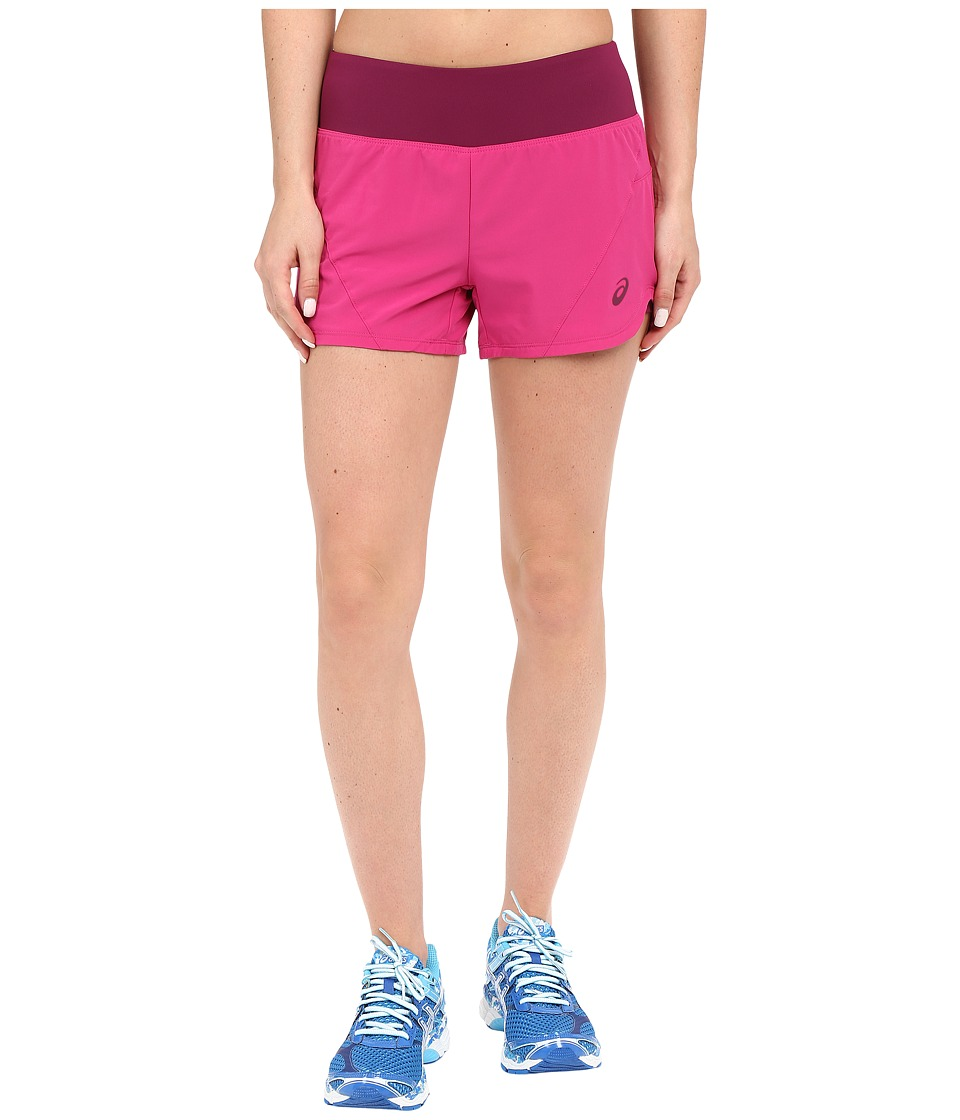 ASICS - Woven 2-in-1 Shorts (Berry) Women's Shorts