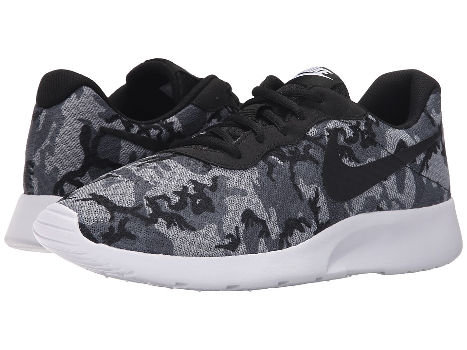 Nike - Tanjun Print (Cool Grey/Wolf Grey/Dark Grey/Black) Men's Running Shoes