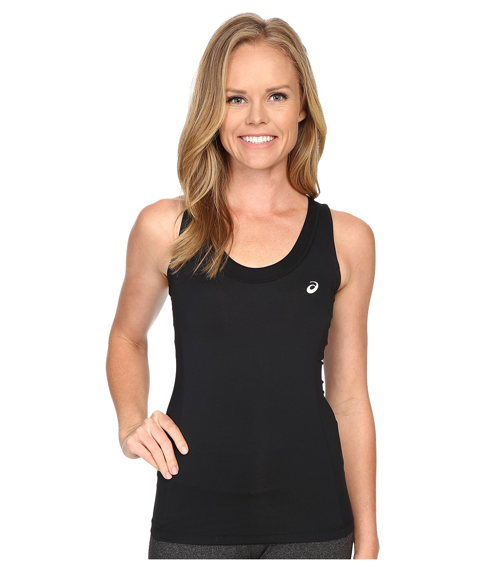 ASICS - Club Tank Top (Performance Black) Women's Sleeveless