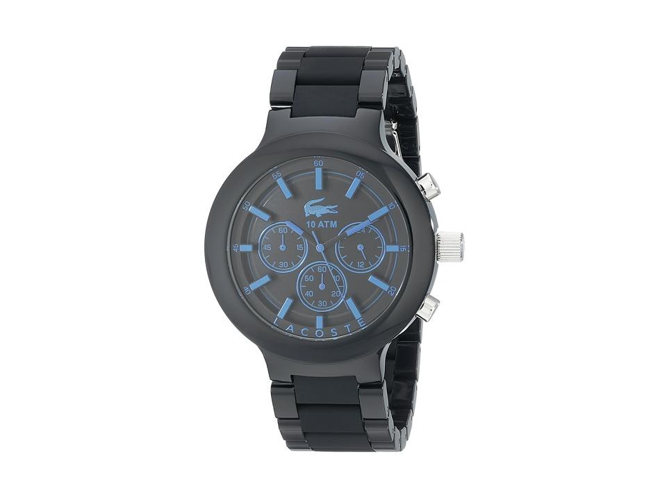 Lacoste - 2010772-BORNEO (Black) Watches