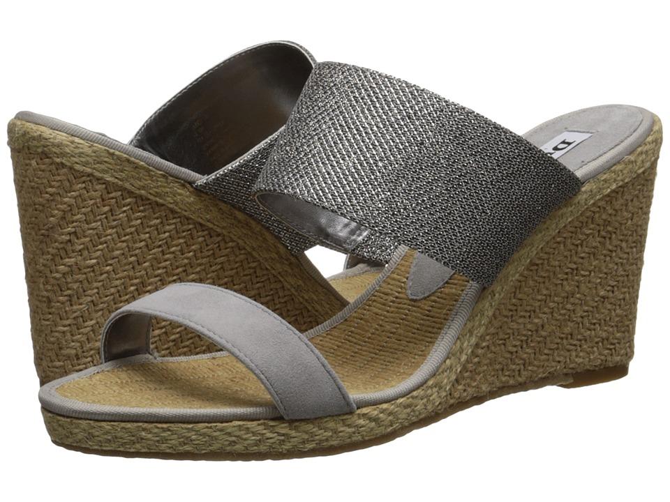 Dune London - Kaleesi (Pewter Lurex) Women's Wedge Shoes