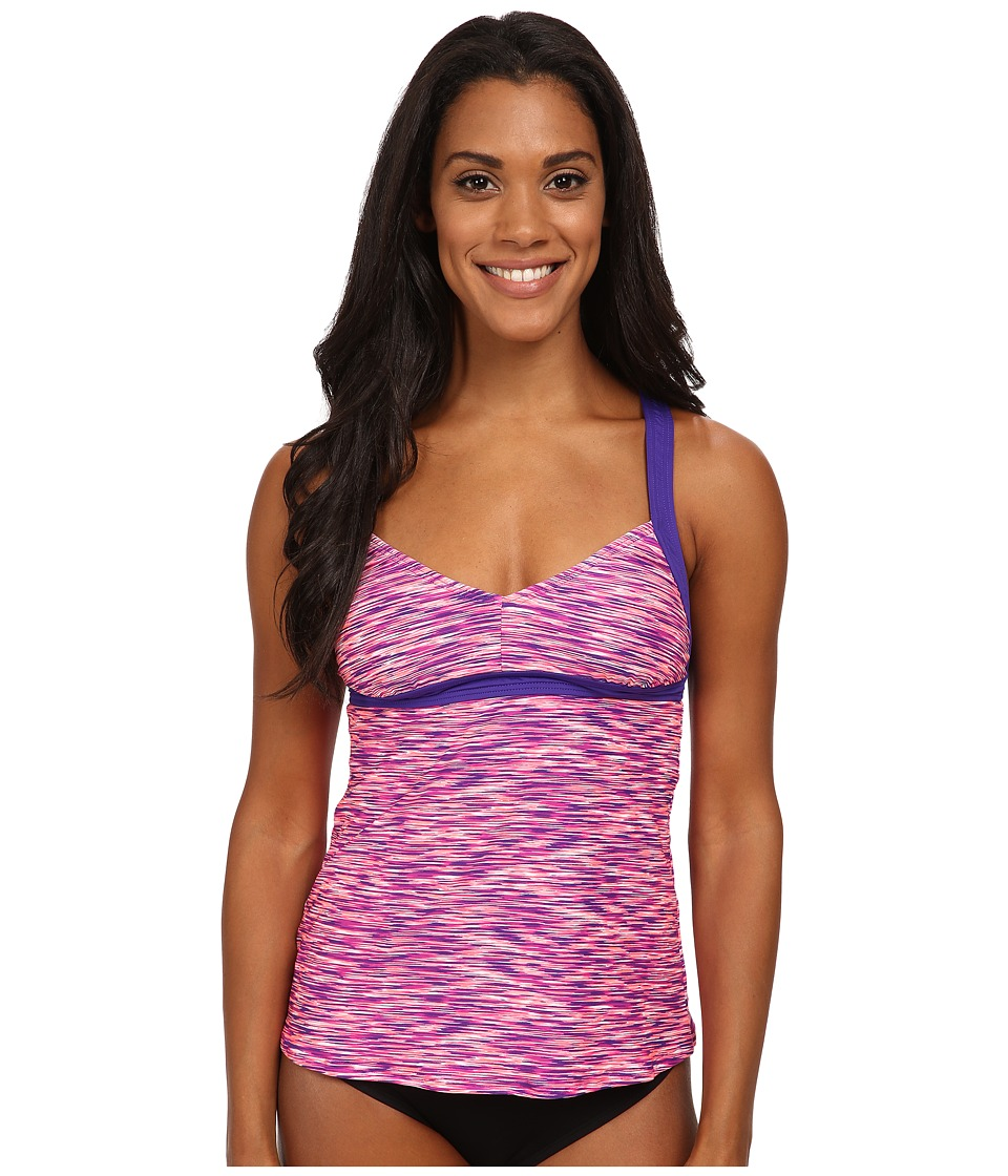 TYR - Sonoma V-Neck Tank (Purple) Women's Swimwear