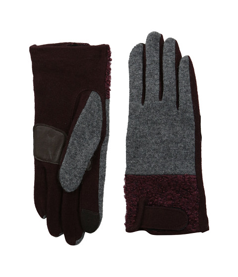 Echo Design - Touch Boucle Tab Gloves (Sienna) Dress Gloves