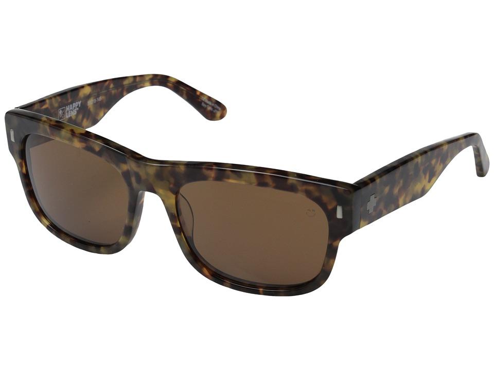 Spy Optic - Hennepin (Desert Tort/Happy Bronze) Sport Sunglasses