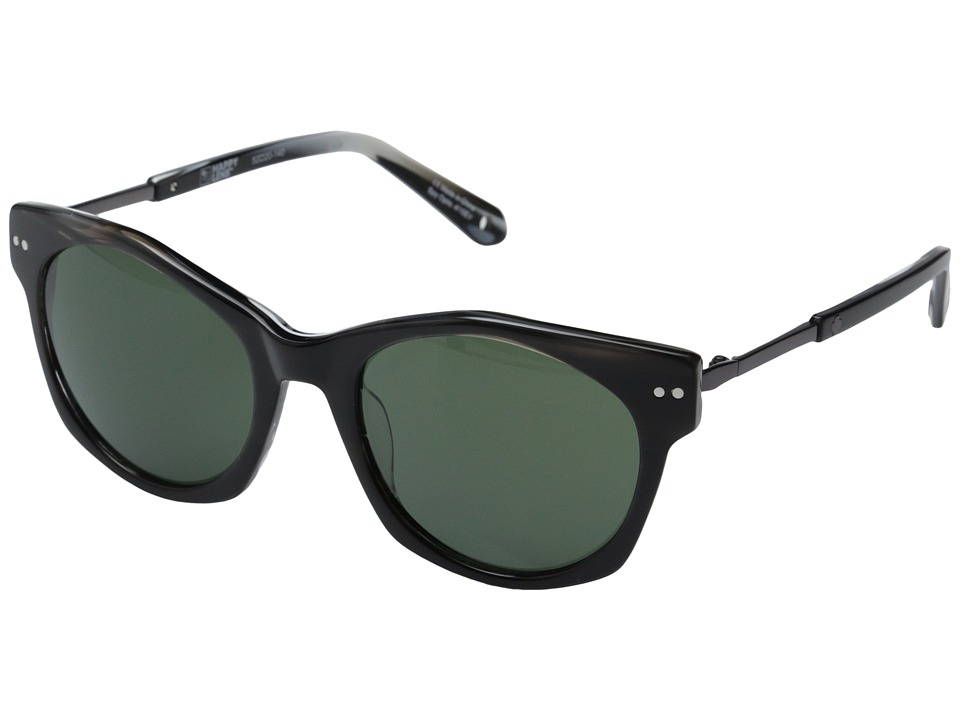 Spy Optic - Mulholland (Black Horn/Happy Grey Green) Sport Sunglasses