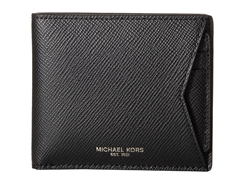 Michael Kors - Box Sets Cross Grain Leather 3-in-1 Set (Black) Wallet Handbags