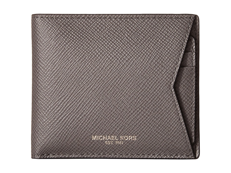 Michael Kors - Box Sets Cross Grain Leather 3-in-1 Set (Grey) Wallet Handbags