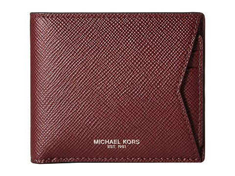 Michael Kors - Box Sets Cross Grain Leather 3-in-1 Set (Oxblood) Wallet Handbags