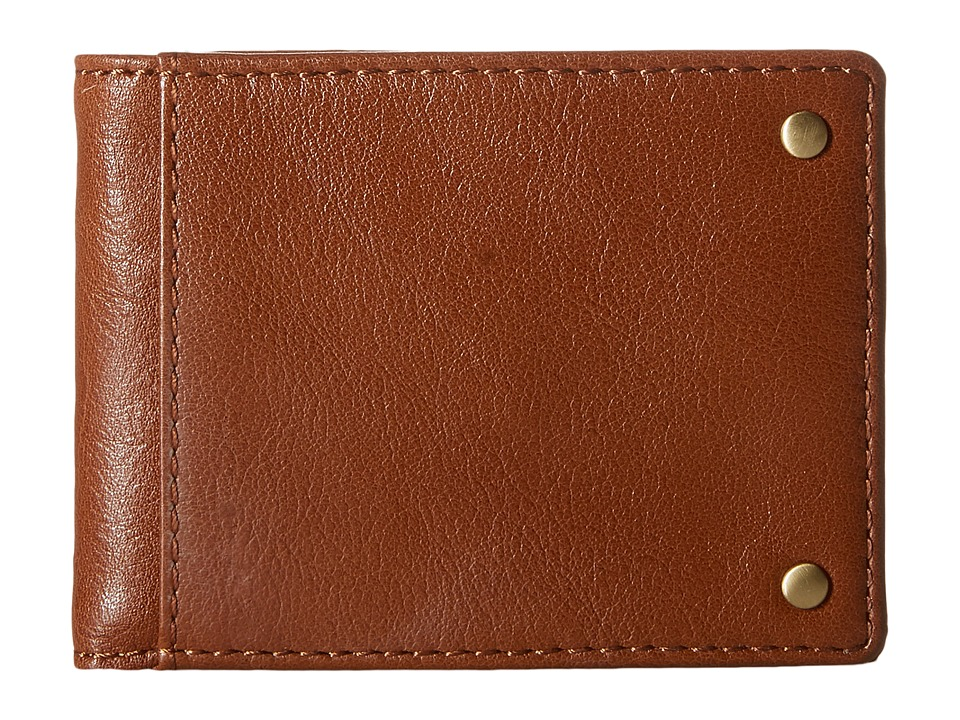 Lodis Accessories - Noah Small Billfold Wallet (Brown) Wallet Handbags