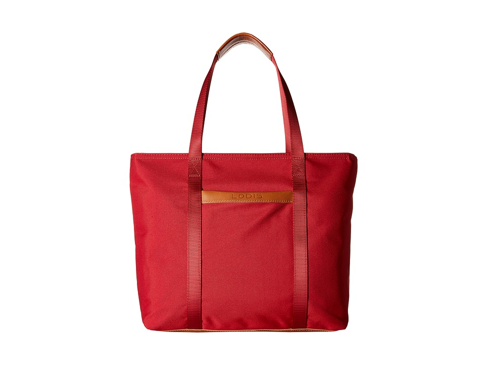 Lodis Accessories - Just in Case Tote (Red) Tote Handbags