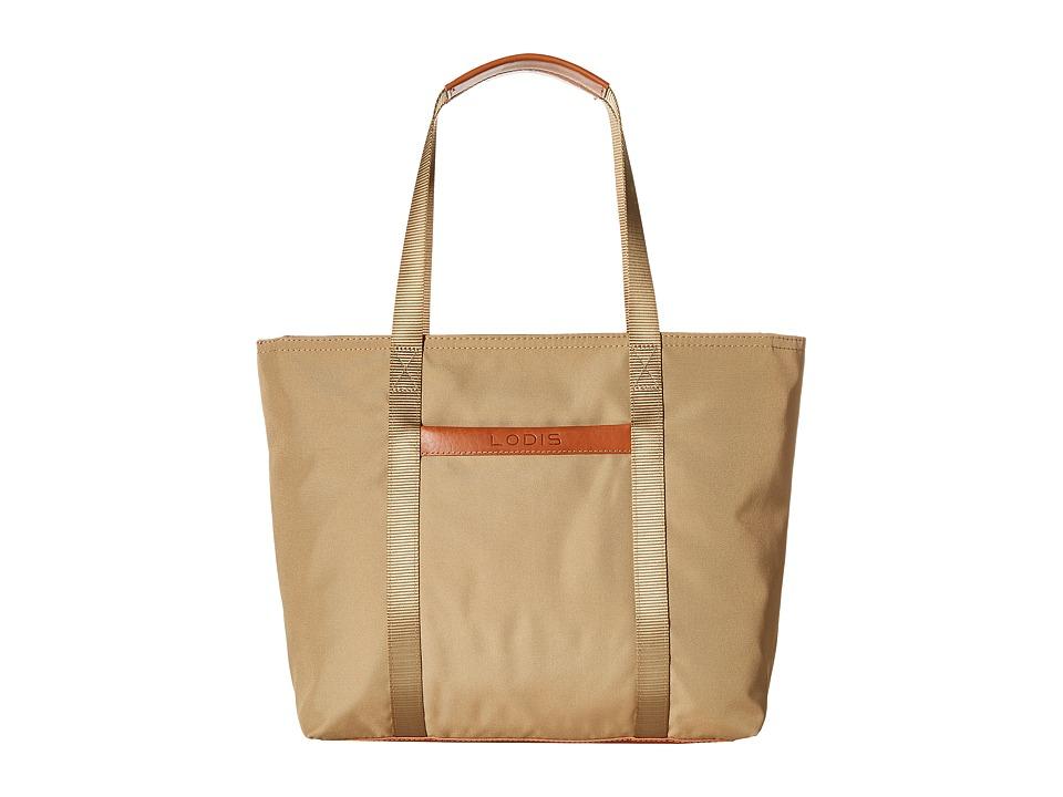 Lodis Accessories - Just in Case Tote (Khaki) Tote Handbags