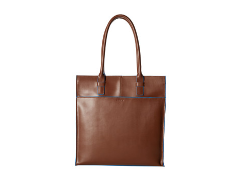 Lodis Accessories - Audrey Liat Tote (Chocolate) Tote Handbags