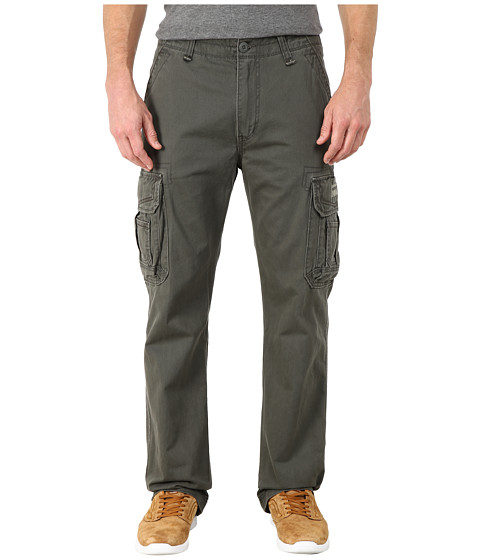 UNIONBAY - Survivor IV Belted Cargo Pant (Axel) Men's Casual Pants