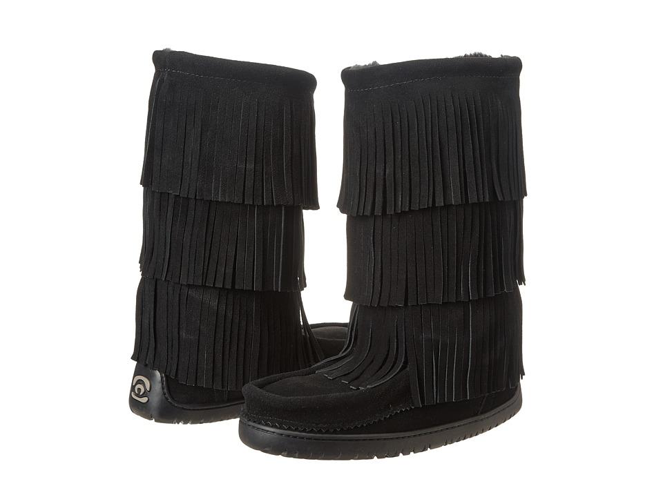 Manitobah Mukluks - Buffalo Dancer Boot Vibram (Black) Women's Boots