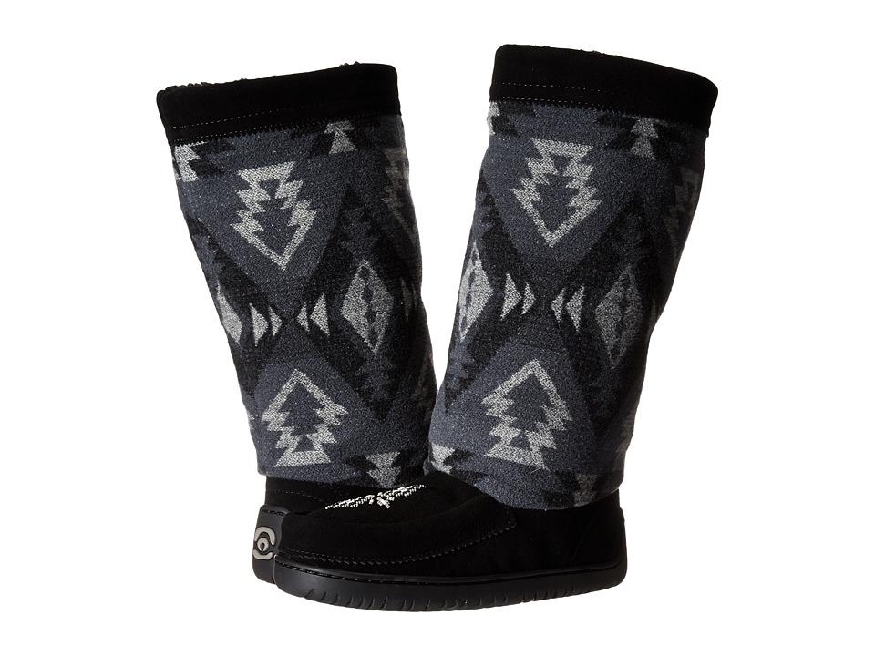 Manitobah Mukluks - Full Wool Mukluk (Black) Women's Boots