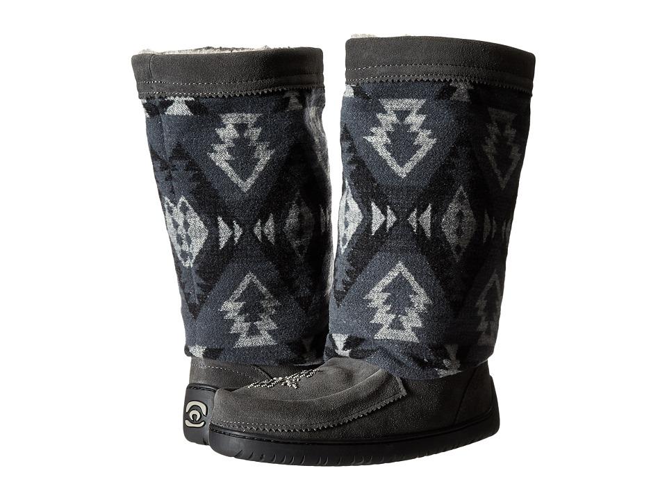 Manitobah Mukluks - Full Wool Mukluk (Charcoal) Women's Boots