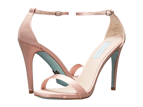 Blue by Betsey Johnson - Sarah (Pink Satin) High Heels