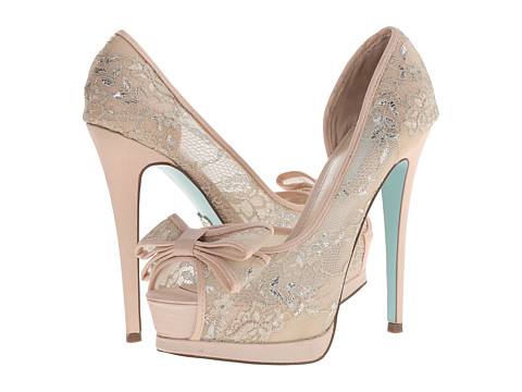 Blue by Betsey Johnson - Vail (Champagne) High Heels