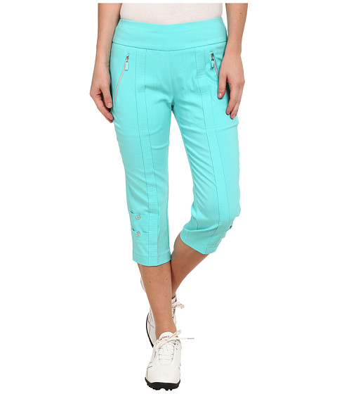 Jamie Sadock - Skinnylicious 28.5 in. Pedal Pusher (Aquadesiac Blue) Women's Capri