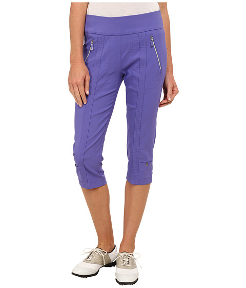 Jamie Sadock - Skinnylicious 28.5 in. Pedal Pusher (Gatsby Purple) Women's Capri