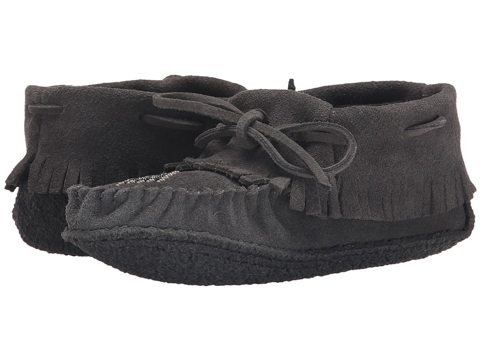 Manitobah Mukluks Trapper Moccasin (Charcoal) Women