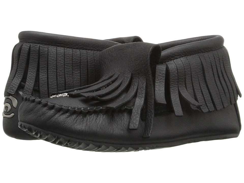 Manitobah Mukluks - Paddle Grain Moccasin Vibram (Black) Women's Boots