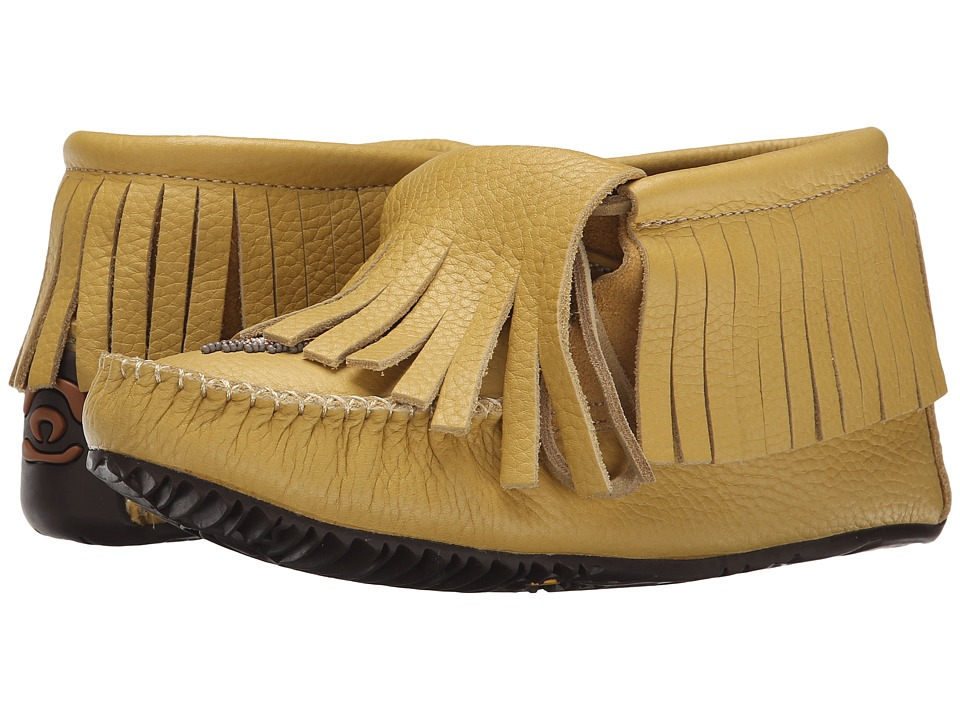 Manitobah Mukluks Paddle Grain Moccasin Vibram (Tan) Women