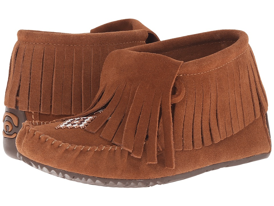 Manitobah Mukluks - Paddle Suede Moccasin Vibram (Copper) Women's Boots