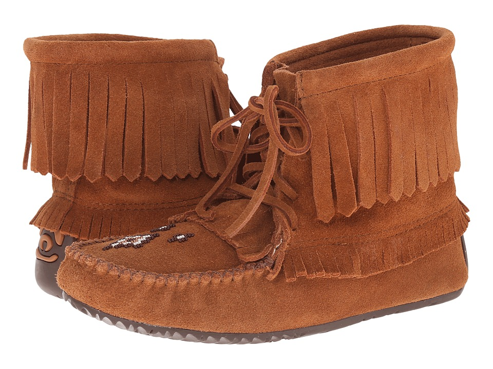 Manitobah Mukluks Harvester Moccasin (Copper) Women