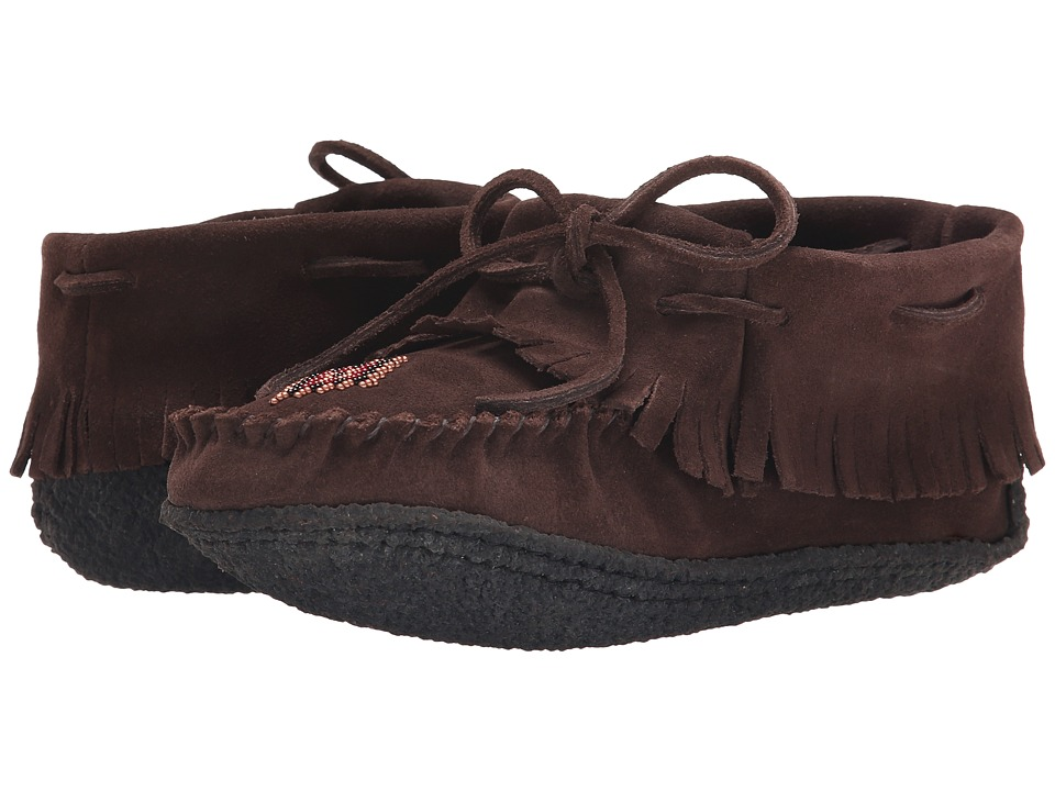 Manitobah Mukluks Trapper Moccasin (Chocolate) Women